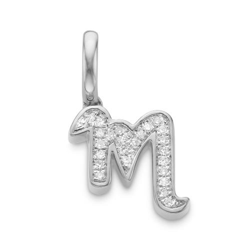 Diamond Alphabet M