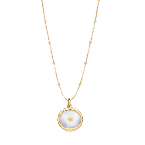 Atlantis Evil Eye Pendant Charm Necklace Set - Monica Vinader