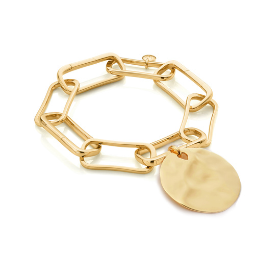 Alta Capture Large Link and Siren Shore Bracelet Set - Monica Vinader