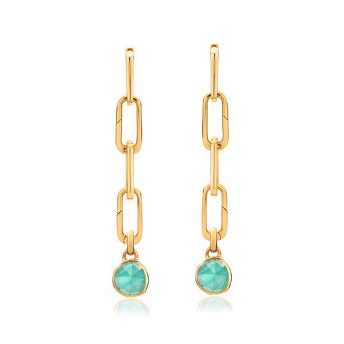 Alta Capture and Siren Mini Pendant Charm Cocktail Earring Set - Monica Vinader