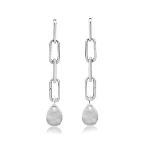 Alta Capture and Ziggy Pendant Charm Cocktail Earring Set - Monica Vinader