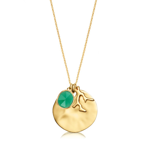 Siren and Nura Pendant Charm Necklace Set - Monica Vinader