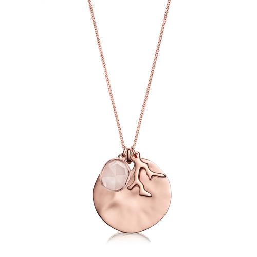 Siren and Nura Pendant Charm Necklace Set - Monica Vinader