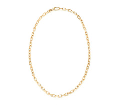 Gold Vermeil Alta Capture Mini Link Necklace - Monica Vinader