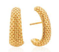 Gold Vermeil Doina Earrings - Monica Vinader
