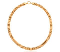 Gold Vermeil Doina Wide Chain Necklace - Monica Vinader