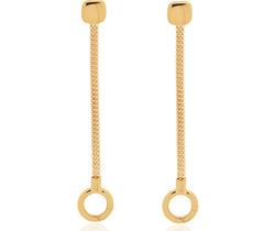 Gold Vermeil Doina Chain Earrings - Monica Vinader