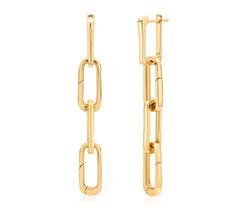 Gold Vermeil Alta Capture Charm Cocktail Earrings - Monica Vinader