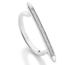 Skinny Diamond Stacking Ring