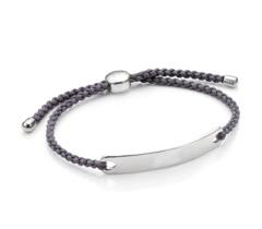 Havana Men's Friendship Bracelet - Steel Grey