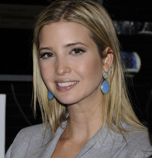 Ivanka Trump wears Monica Vinader Nugget Cocktail Earrings to an event in New York City, 2012.