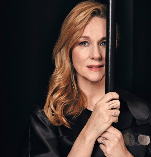 Laura Linney Spotted Wearing Our Naida Cocktail Ring In Silver